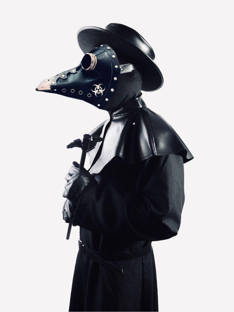 Plague Doctor Costume Plague Staff bird mask